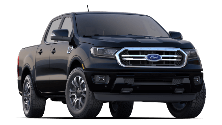 2020 Ford Ranger in Black