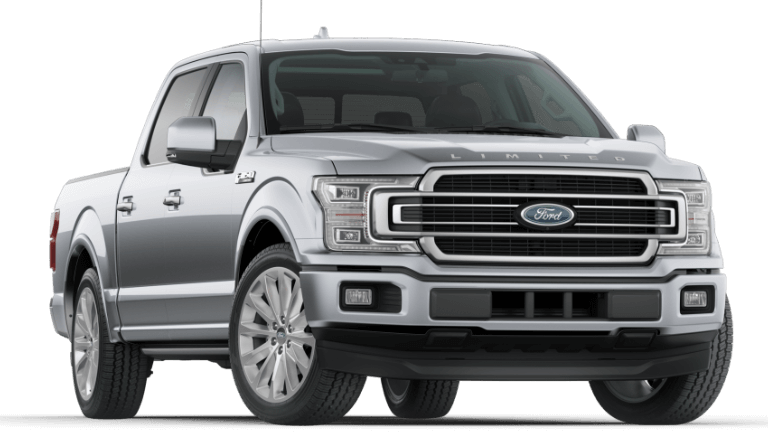 2020 Ford F-150 Limited in Silver