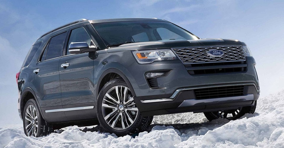 2019 Ford Explorer Trim Packages Xlt Vs Limited Vs Sport Vs Platinum