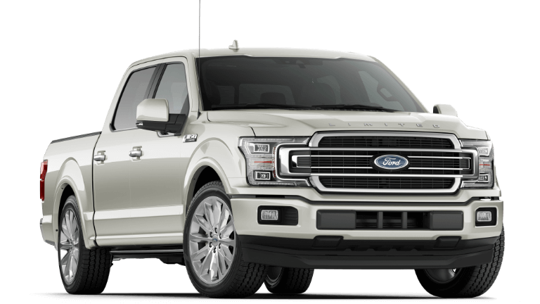 2019 Ford F-150 Limited white