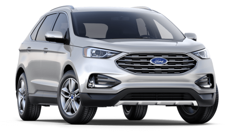 2019 Ford Edge SEL in Silver
