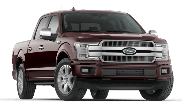 2020 Ford F-150 Platinum in Magma Red