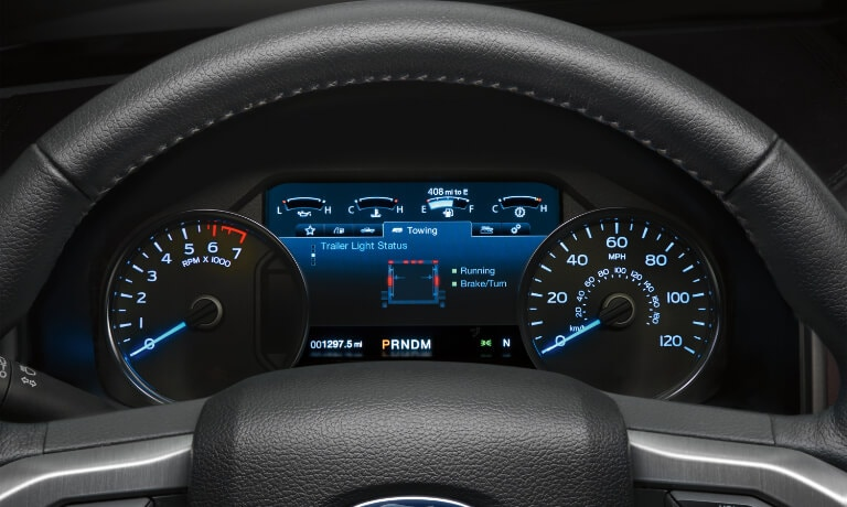 2020 Ford F-150 Dashboard