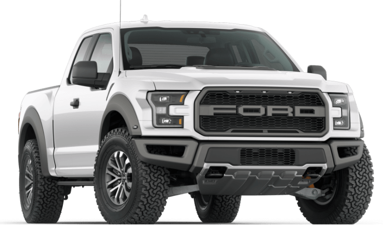 2020 Ford F-150 Raptor in white