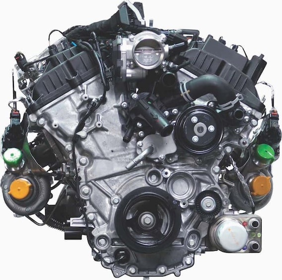 2019 Ford F-150 Engines: 3.5L EcoBoost V6 vs. 2.7L vs. 3.3L ... V Engines Diagram With Names on