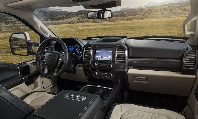 2020 Ford Super Duty® Safety Features