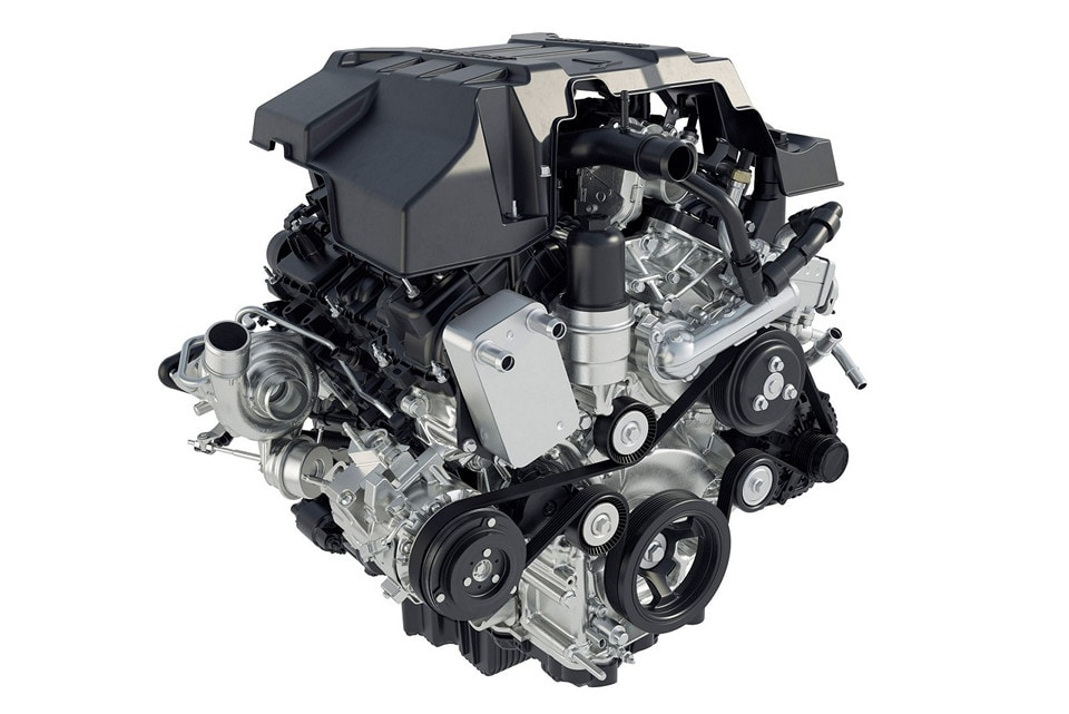 2018 Ford F-150 2.7L EcoBoost Engine