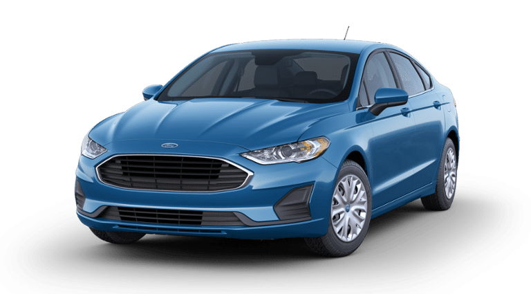 2020 Ford Fusion S - Blue
