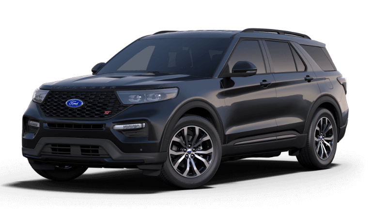 2020 Ford Explorer ST Black
