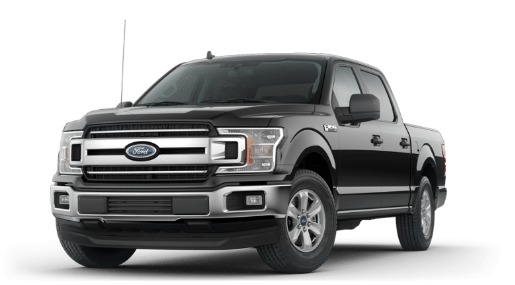 2019 Ford F-150 XLT in Black