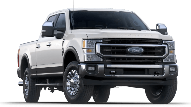 2020 Super Duty King Ranch in white