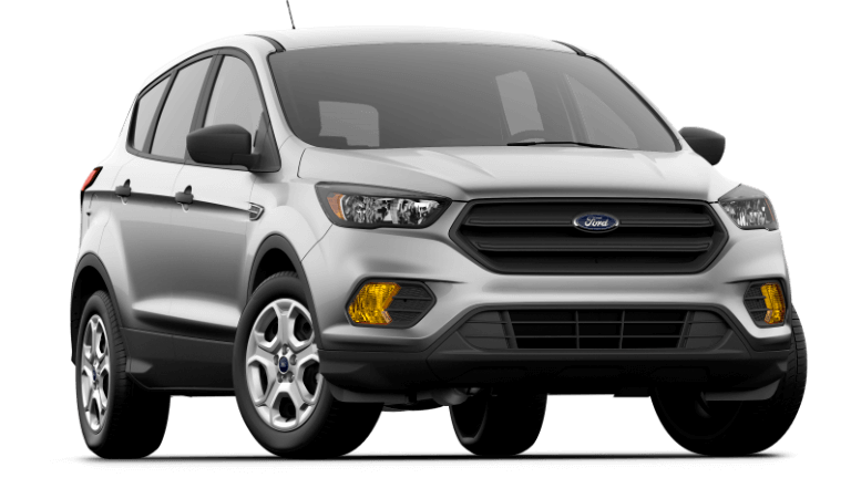 2019 Ford Escape S in Ingot Silver