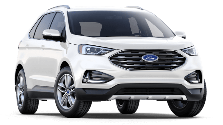 2019 Ford Edge SEL in White
