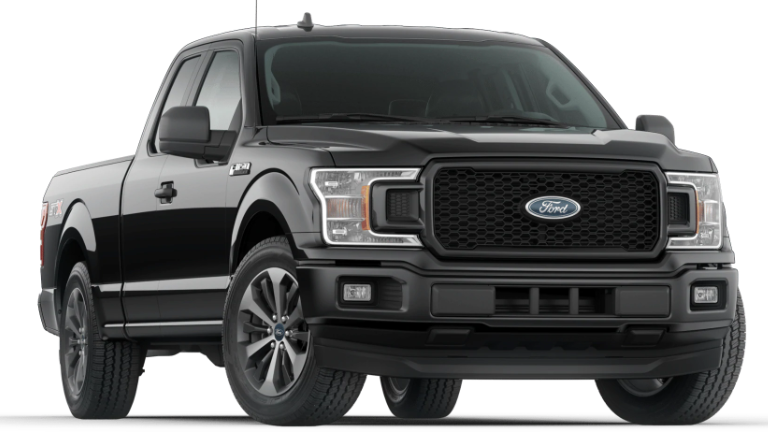 2020 Ford F-150 XLT Supercrew in black