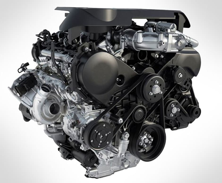 2018 Ford F-150 3.0 Power Stroke Turbo Diesel Engine