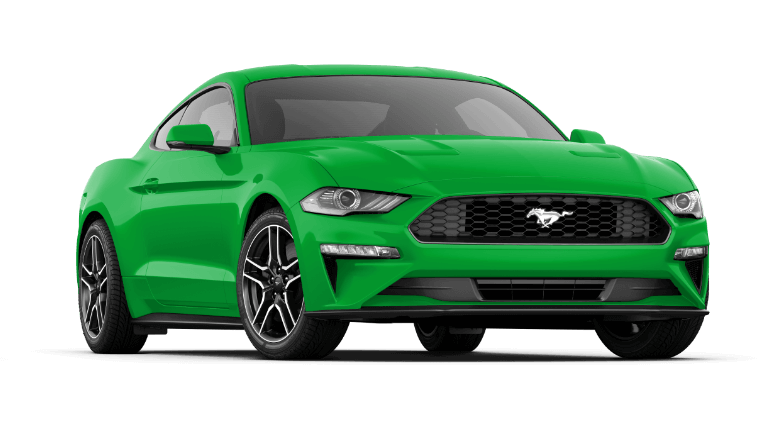 2019 Ford Mustang Premium Fastback in Green