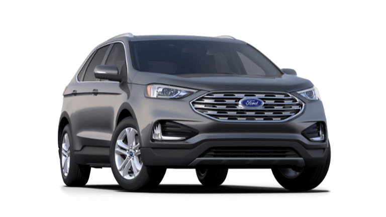 2020 Ford Edge SEL in silver