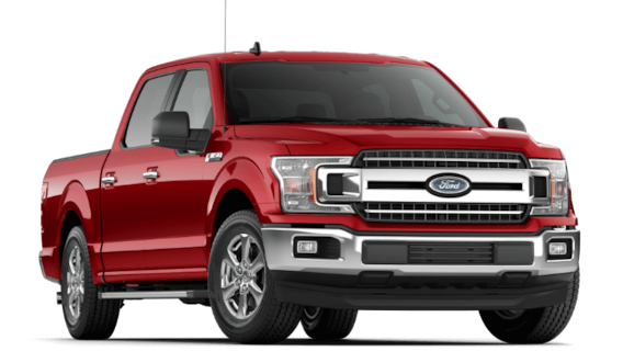 2019 Ford F-150 XLT in Ruby Red