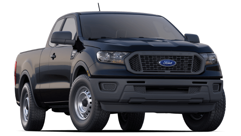 2020 Ford Ranger XL in Absolute Black
