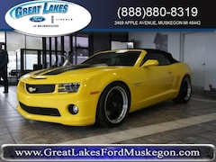 Used 2011 Chevrolet Camaro SS w/2SS Convertible