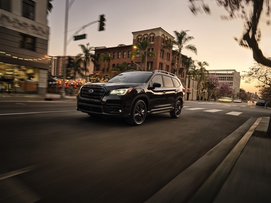 2022 Subaru Ascent Onyx Edition black in town