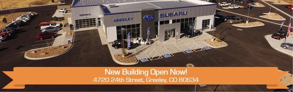 Subaru Dealer Near Me >> Subaru Dealer Near Me Greeley Co Northern Colorado Subaru
