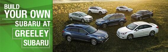 Build Your Own Subaru >> Build Your Own Subaru At Greeley Subaru