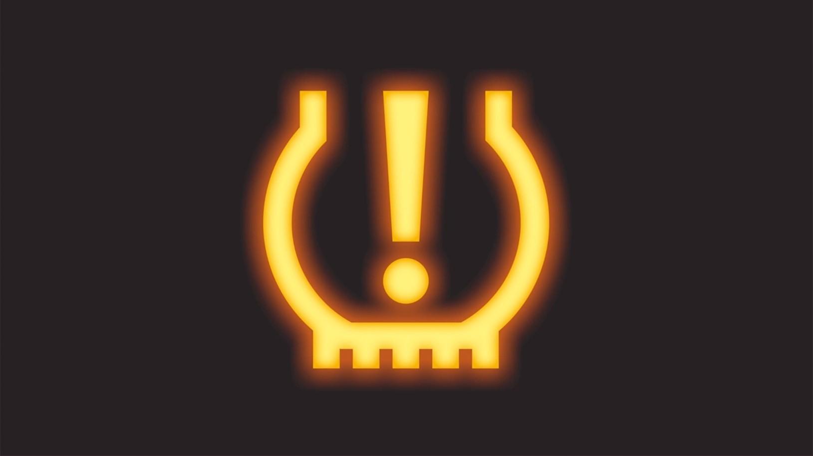 Tire Pressure Monitoring System warning light