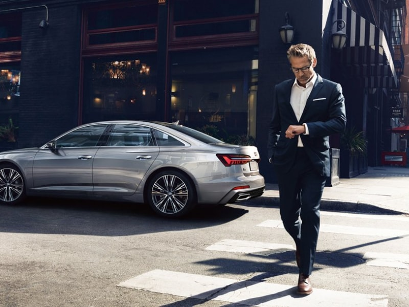 The 2019 Audi A6 available at Green Audi in Springfield, IL