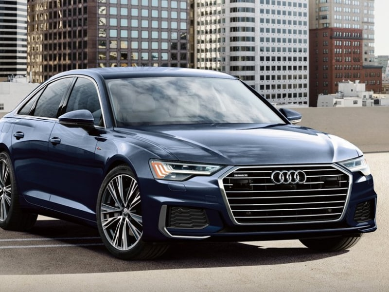 The sleek exterior of the 2019 Audi A6