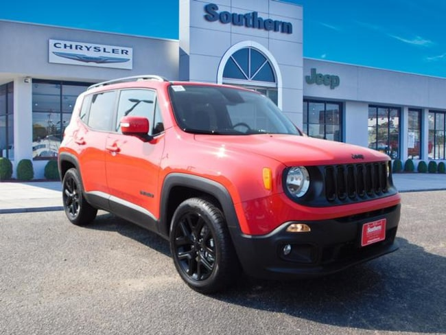 New 2018 Jeep Renegade ALTITUDE 4X2 Sport Utility in Chesapeake
