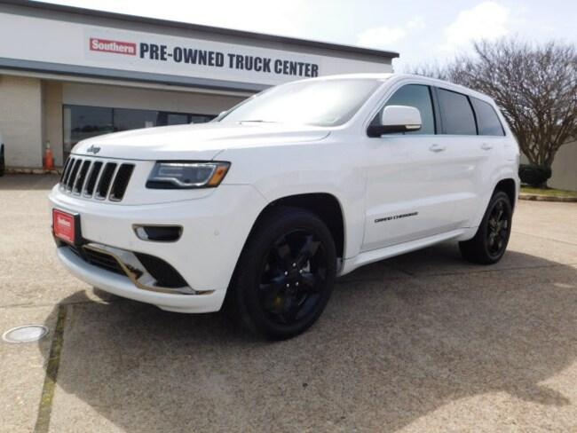 2016 Jeep Grand Cherokee Overland RWD SUV