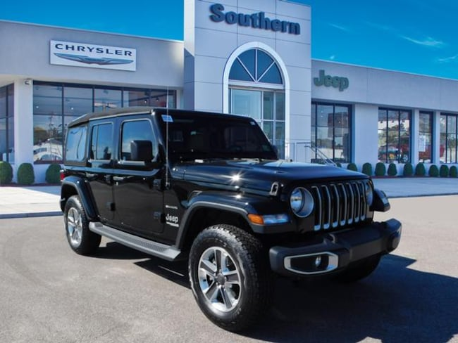 New 2018 Jeep Wrangler UNLIMITED SAHARA 4X4 Sport Utility in Chesapeake