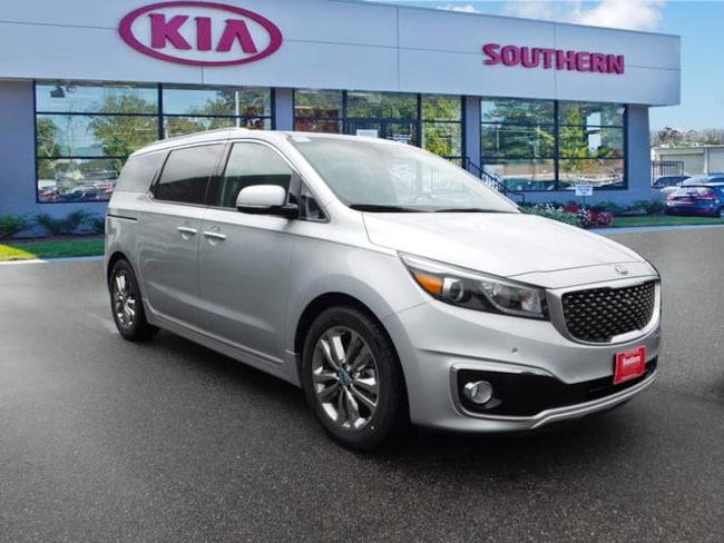 New 2018 Kia Sedona SXL Minivan/Van in Virginia Beach