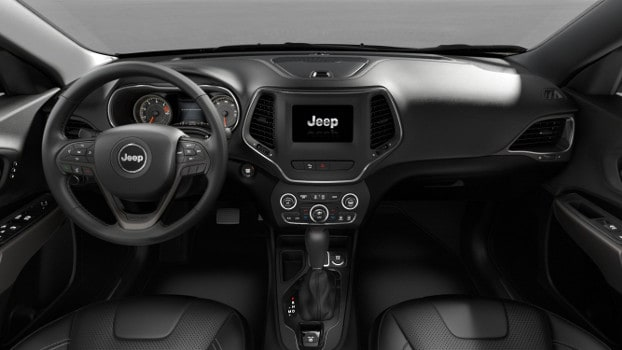 interior of 2019 Jeep Cherokee Limited