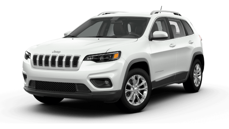 Bright White 2020 Jeep Cherokee Latitude