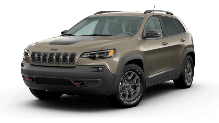 Light Brownstone 2020 Jeep Cherokee Trailhawk