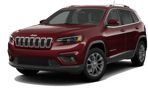Red 2019 Jeep Cherokee