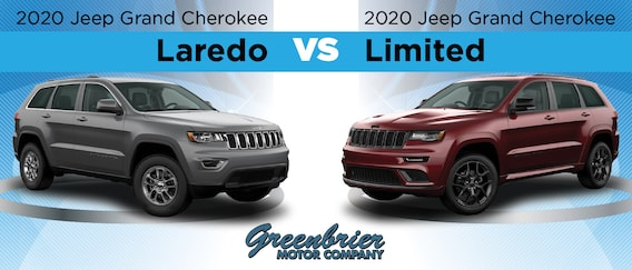 2020 Jeep Grand Cherokee Laredo Vs Limited Differences Similarities