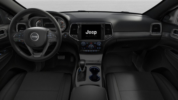 interior of 2019 Jeep Grand Cherokee Altitude