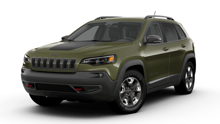 2019 Jeep Cherokee Trailhawk Olive Green
