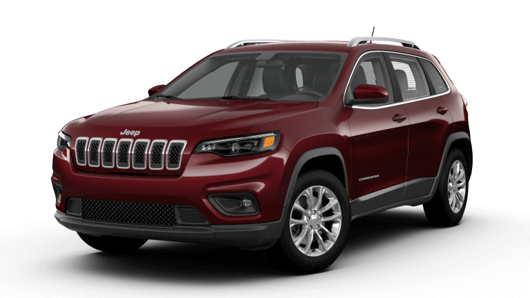 2019 Jeep Cherokee Latitude in Velvet Red