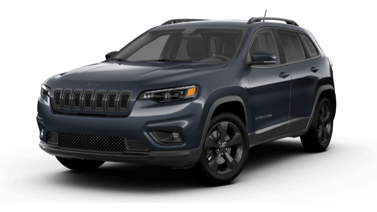 Blue Shade 2020 Jeep Cherokee Altitude