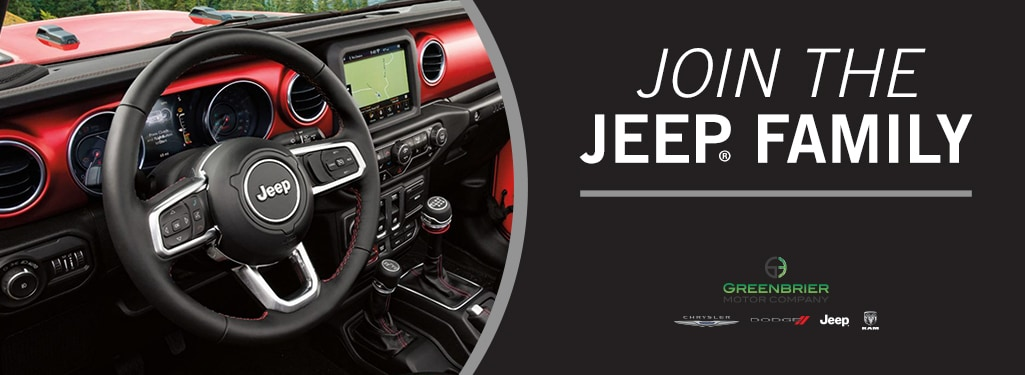 Join the #JeepFamily in Lewisburg, WV