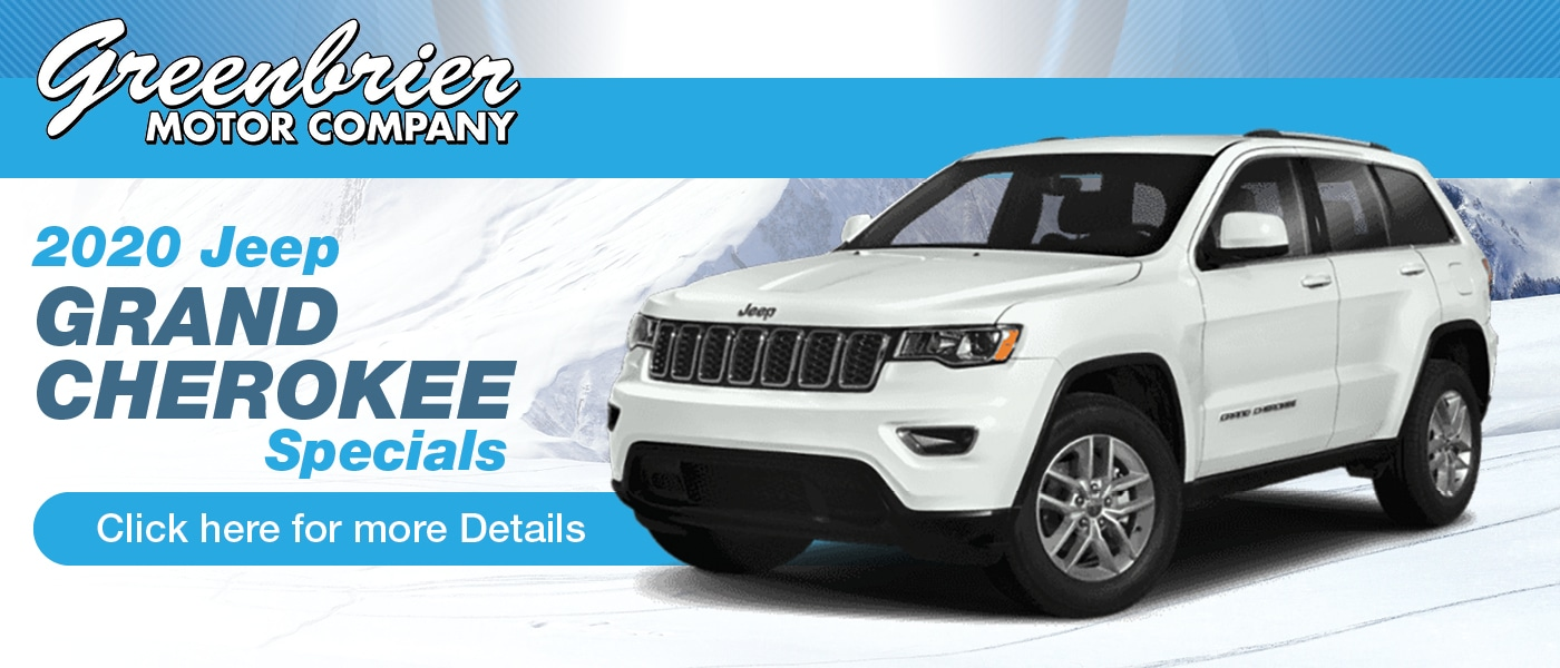 Click Here for 2020 Jeep Grand Cherokee Specials