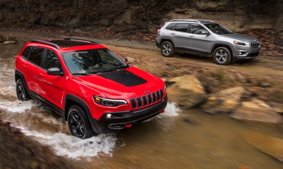 2020 Jeep Cherokee Trim Levels Latitude Vs Limited Vs Altitude