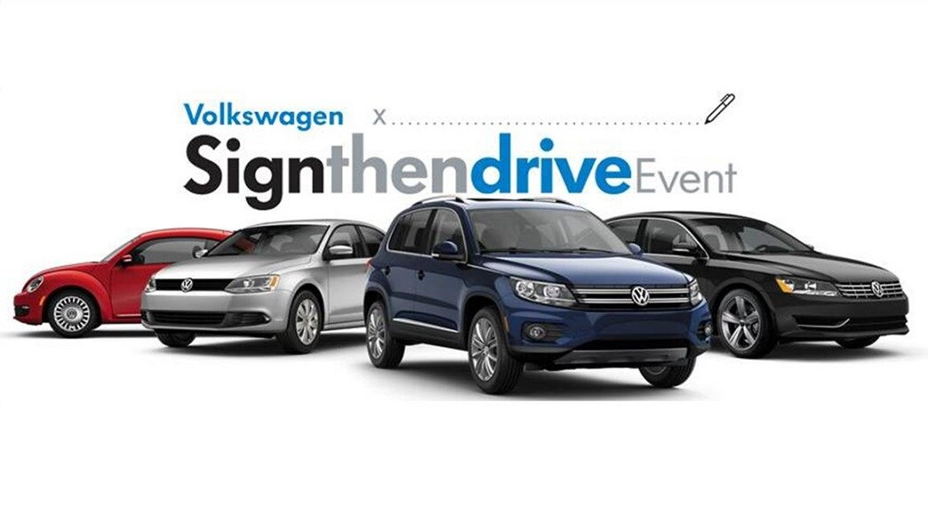 sign and then drive with southern volkswagen greenbrier & save big