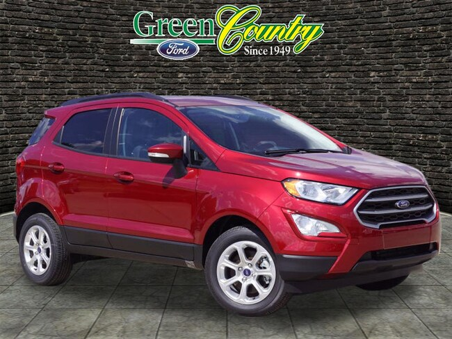 New 2018 Ford EcoSport SE SUV for Sale/Lease Vinita, OK