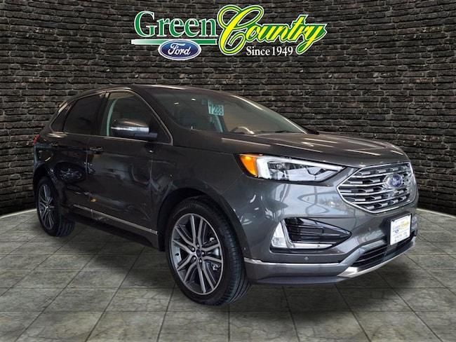 New 2019 Ford Edge Titanium SUV for Sale/Lease Vinita, OK