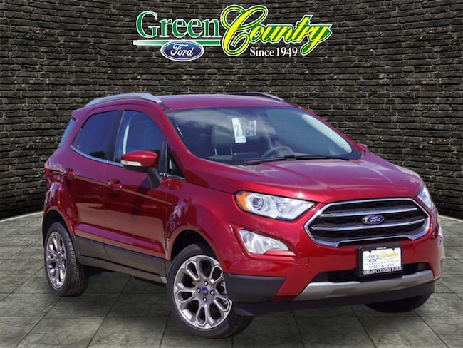 New 2018 Ford EcoSport Titanium SUV for Sale/Lease Vinita, OK